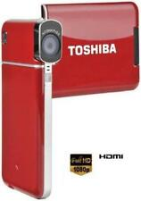 Toshiba camileo s20 Full-HD videocámara (7.6 cm display, USB 2.0) rojo
