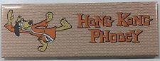 Hong Kong Phooey Fridge Magnet