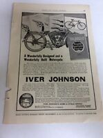 1913 MAGAZINE AD #A3-022 - Over Johnson Bicycles Motorcycles Firearms