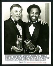 Bill Madlock & Dick Williams 1980 Press Photo Pittsburgh Pirates Montreal Expos
