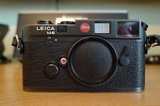 Leica M6 Classic 35mm Rangefinder Film Camera black