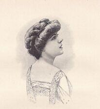 Portrait Lucie Delarue Mardrus  Honfleur Calvados Normandie Femme de Lettres
