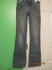 Junior's Solid Blue Jeans 1 Amethyst 98%Cotton,2%Spandex I-33