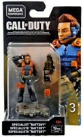 Mega Construx Call Of Duty  Specialist Battery MOC BRAND NEW FACTORY SEALED