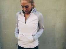 NWT $228 Lululemon Let's Get Visible Hoodie, Grey/Pink Size 6 *Reflective