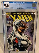 CGC 9.6 1992 Uncanny X-Men 290 - White Pages