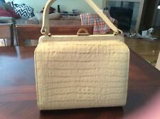 White Alligator Vintage Handbag Sydney of California