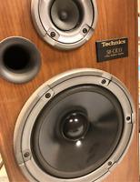 VINTAGE TECHNICS SB-CR33 2 Way Floor Speakers