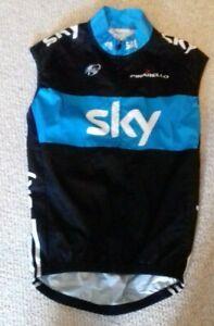 Team Sky Pinarello Genuine Adidas cycling gilet/jersey 2010 [S/2]