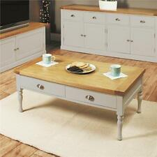 Oak Rectangle 60cm-80cm Height Coffee Tables with Drawers
