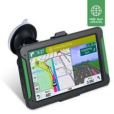 "NAVRUF Car GPS Navigator, 7"" 8GB HD Touch Screen Navigation System Lifetime maps"