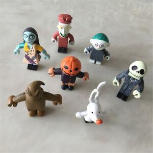 The Nightmare Before Christmas Jack Skellington 7pcs/set Action Figure Kids Toys