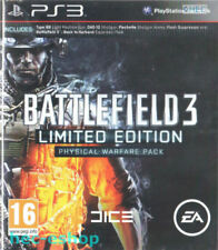 Battlefield 3: Limited Edition - Physical Warfare Pack (PS3 Game) *VGC*