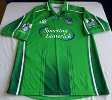 "Brand new vintage O'Neills brand, ""Sporting Limerick"" soccer/futbol jersey in M"
