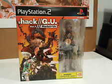 dot hack (.hack G.U.) Vol. 1 Rebirth Special Edition PlayStation 2, 2006 New
