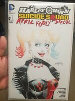 SKETCH HARLEY QUINN SUICIDE SQUAD APRIL FOOLS SPECIAL #1 BY JASON METCALF. 2020