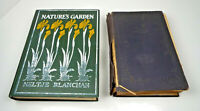 Neltje Blanchan Nature Library Birds Garden Wild Flowers Insects 1920-1926 HB
