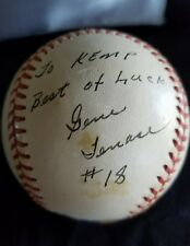 Rawlings Official Ball American league Bobby Brown Pres Tenace & gaston signed