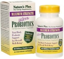 Ultra Probiotics Natures Plus 60 veg. caps Eur146.38/100 g