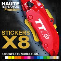 Stickers autocollants adhésifs pour étrier de frein - Audi TT Sline TTS