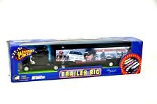 NASCAR WINNERS CIRCLE  DALE EARNHARDT FOREVER THE MAN 1:64 TRAILER RIG HAULER