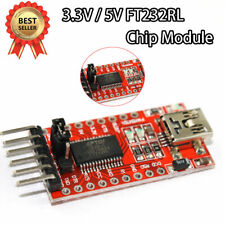 FTDI USB to TTL Serial Converter Adapter FT232RL Module 5V and 3.3V Arduino ARM