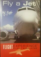 FLY A JET MY FLIGHT EXPERIENCE FIXED BASE SIMULATOR RARE DVD AIRLINER COCKPIT