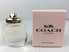 COACH NEW YORK PERFUME WOMEN MINIATURE EAU DE PARFUM 0.15 OZ 4.5 ML NEW IN BOX