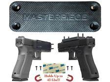 Gun/Rifle/Shotgun Magnetic Mount 43 Lbs Rating Rubber Coated Quick Access