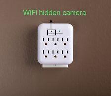 hidden camera 4K wifi plug Utilitech 6-Outlet