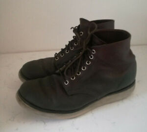 Men's Redwing Briar Boots - Dark Brown - UK Size 8 / USA 9