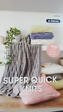 Patons Pattern Book #0035 Super Quick Knits for You and Your Home