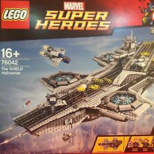 LEGO MARVEL SUPER HEROES THE SHIELD HELICARRIER - 76042