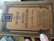 Search for mans ancestors G elliot Smith PB book Forum series sh34