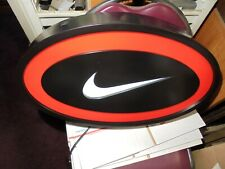 """Lighted Nike Store Display Sign 1997 Usa Made 24""""X14"""" Great Working"""