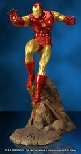 HARD HERO THE INVINCIBLE IRON MAN COLD CAST PORCELAIN STATUE 45CM