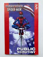 Ultimate Spiderman Vol 5 Public Scrutiny - Marvel Graphic Novel OOP TPB! Rare!