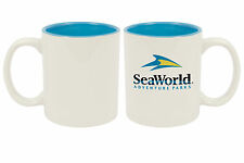 Sale! 11 oz Ceramic Sublimation Mugs - Two-Tone - Light Blue - 36/case (21110-1)