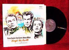 OST KINGS GO FORTH ELMER BERNSTEIN 1958 CAPITOL VG++