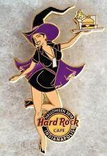 HARD ROCK CAFE INDIANAPOLIS SEXY WITCH GIRL WEARING PURPLE CAPE HAT PIN # 101350