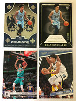 2020 Panini Black Box Crusade Brandon Clarke 4 Card Rookie Lot Grizzles /249