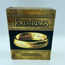 The Lord of the Rings: The Motion Picture Trilogy Extended (Blu-ray Disc, 2011)