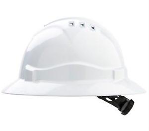 Pro Safety Wide brim FULL ROUND HARD HAT || AUTHORISED SELLER
