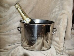 Nickel Plate Champagne Bucket - Epernay - Alfred Gratien - VGC - REDUCED.