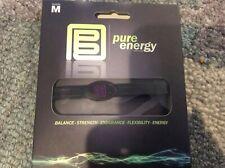 PURE ENERGY BAND - Balance - Strength - Endurance - Size M Medium- Purple/Black