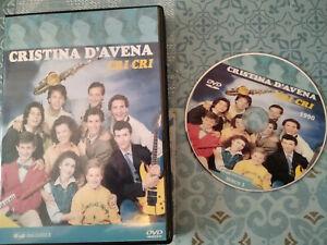 """DVD SET-BOX SERIE TV FUORI CATALOGO """"CRISTINA CRI CRI"""" 2 STAGIONI C,D'AVENA"""