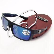 NEW Costa Del Mar MOTU Matte Black Teak & 580 Blue Mirror Glass 580G