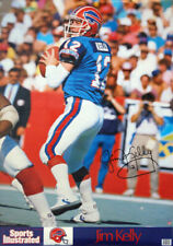 JIM KELLY BUFFALO BILLS 1989 SPORTS ILLUSTRATED POSTER NIP