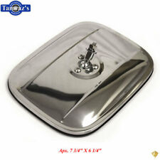 47-72 Chevy GMC Pick Up Pickup Truck Exterior Door Stainless Back Mirror NO BASE