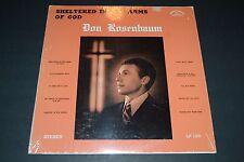 Don Rosenbaum~Sheltered in the Arms of God~Songs of Calvary LP 182~Christian